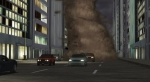 Un demonio por la calle es muy raro, hagamos que sea un tornado que sigue una ruta.